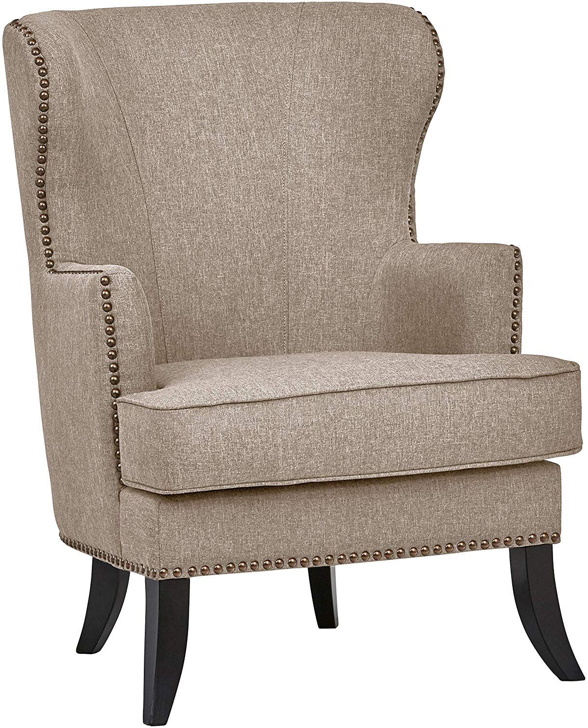 Ravenna Home Valmay Wingback Nailhead Trim Accent Chair