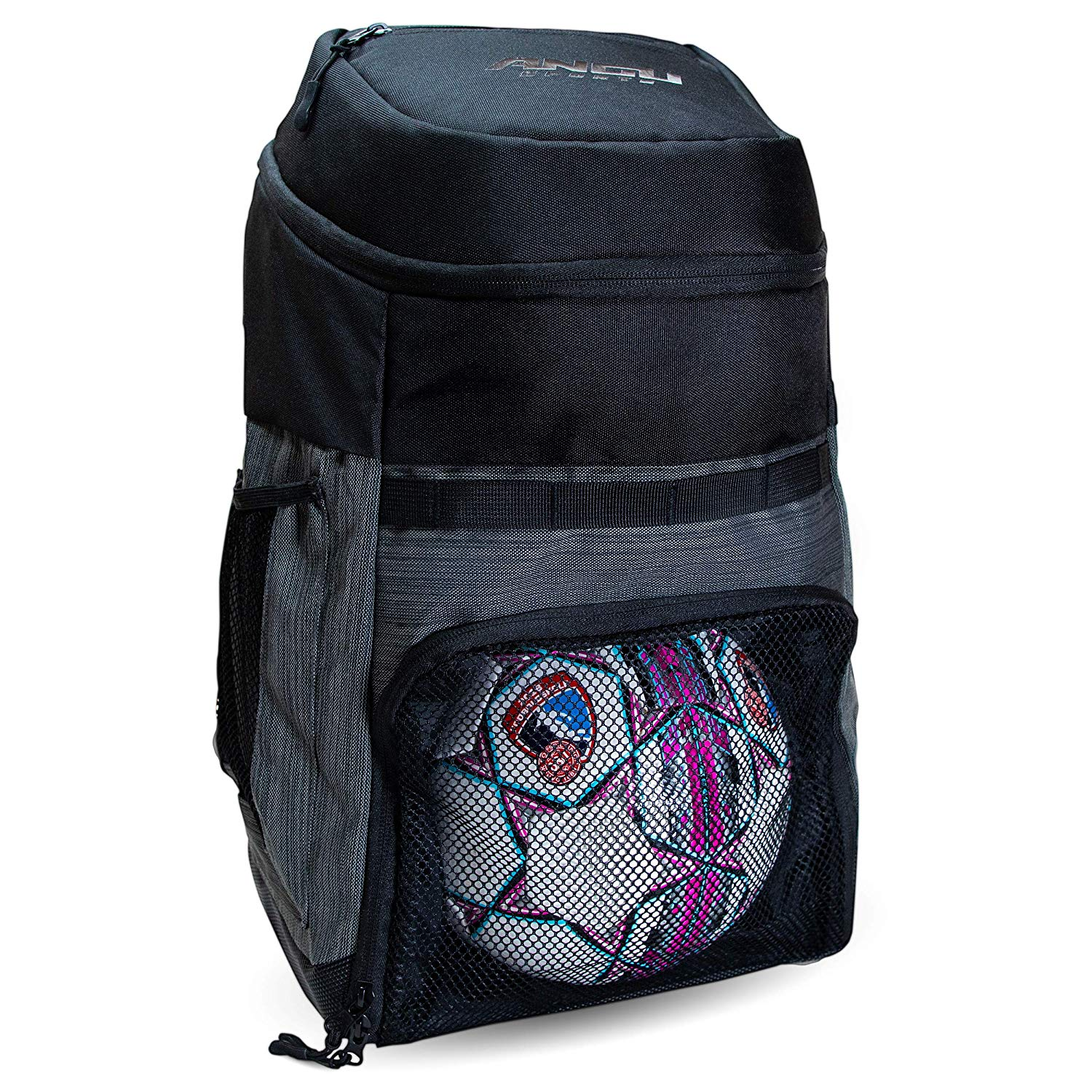 Soccer Bags with Ball Holder- Use as Soccer Backpack, Basketball Backpack, Volleyball Bag of Football Bag