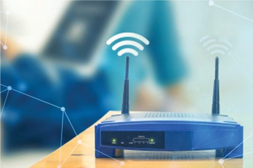 Feature for choosing the right router for satellite internet