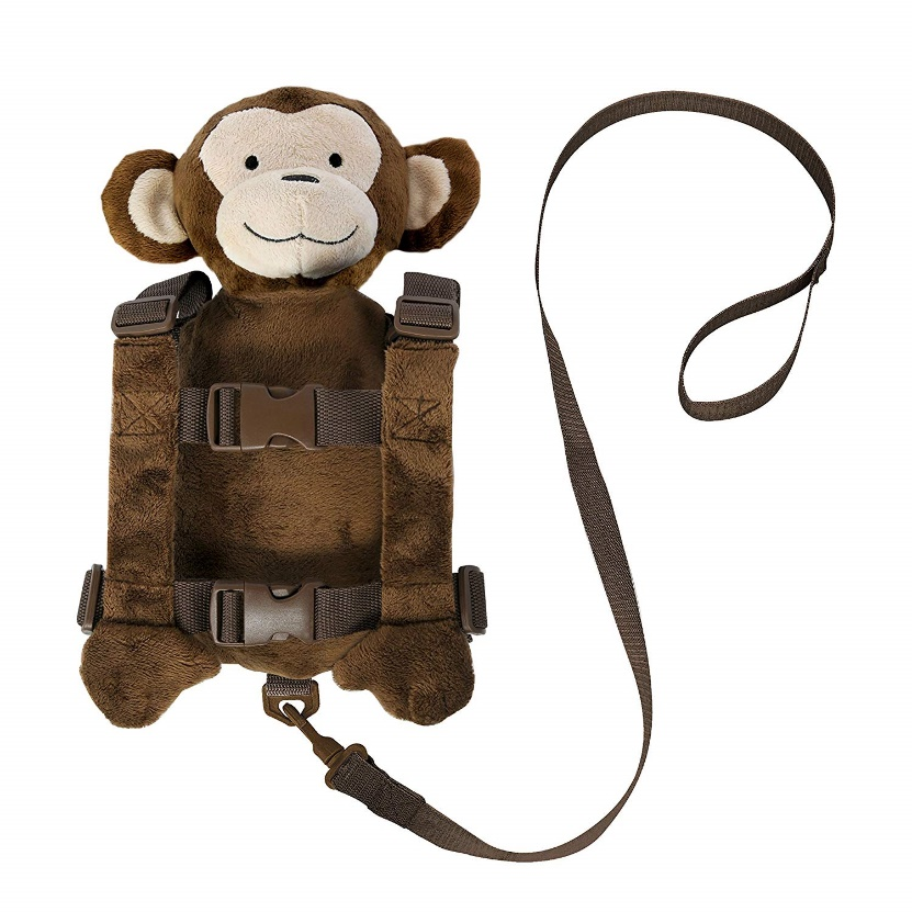 Goldbug - Animal 2 in 1 Child Safety Harness – Monkey