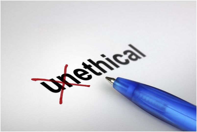 Eliminating unethical behaviors - working environment