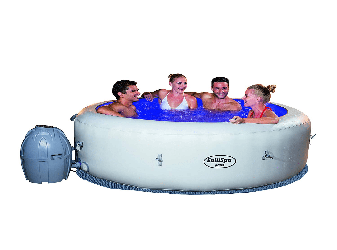 Bestway Paris AirJet Hot Tub | 6 Person Inflatable Hot Tub