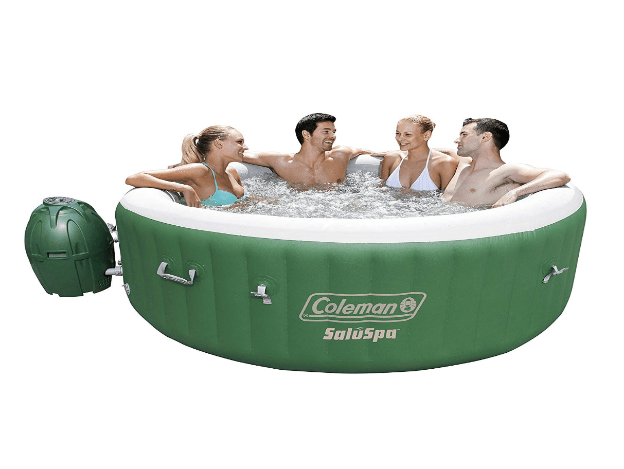 Coleman SaluSpa Inflatable Hot Tub Spa | 6 Person Inflatable Hot Tub