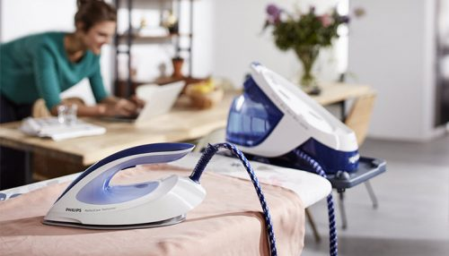 Which has more capacity than others? | Steam Iron