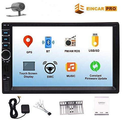 Touch Screen Double Din Car Stereo