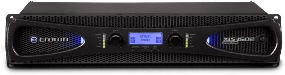 Crown XLS1502 525W at 4Ω Two-channel