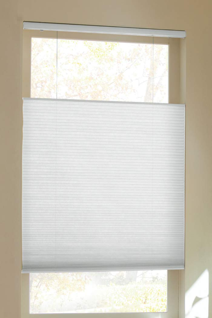 Trader Blinds Cordless Top Down Bottom Up Shade White