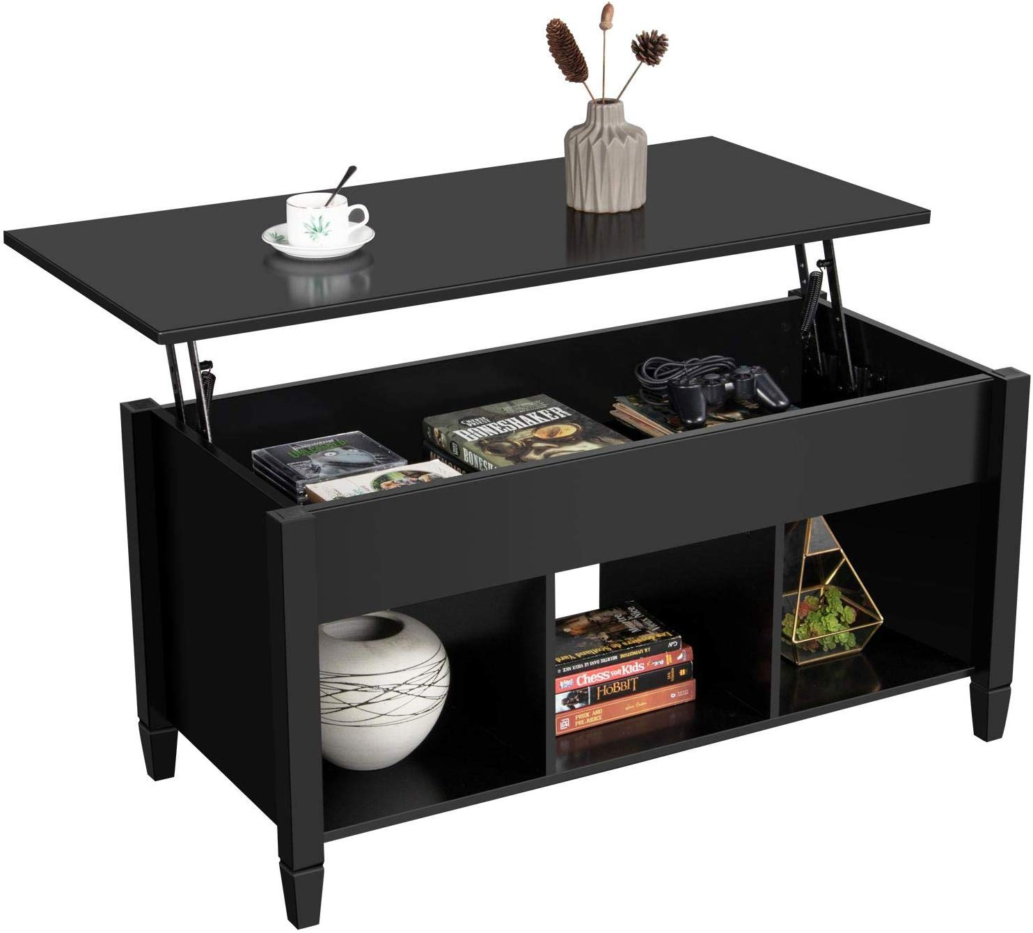 cool Coffee Tables Yaheetech Lift Top Coffee Table