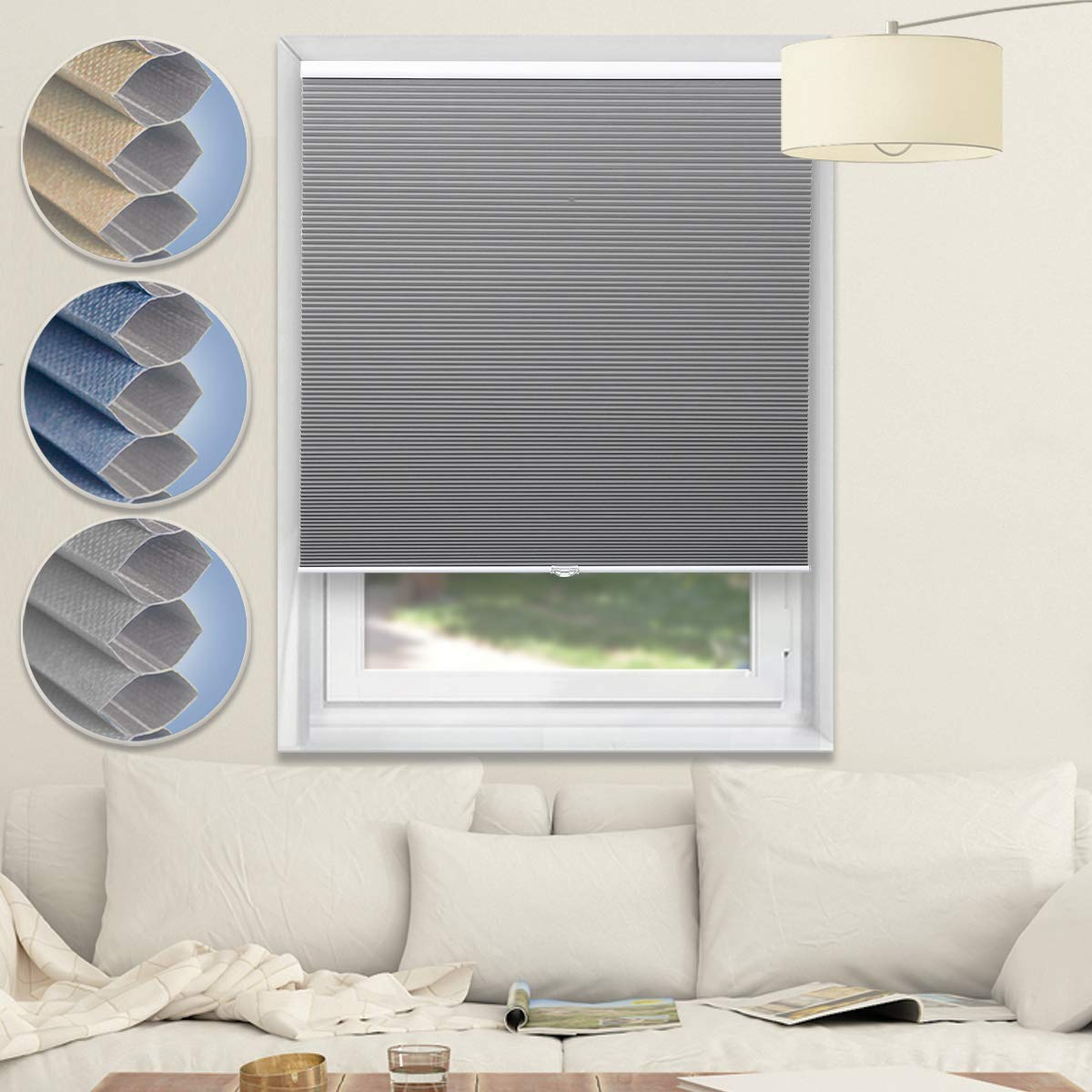 Blackout Shades Cordless Blinds Cellular Shades