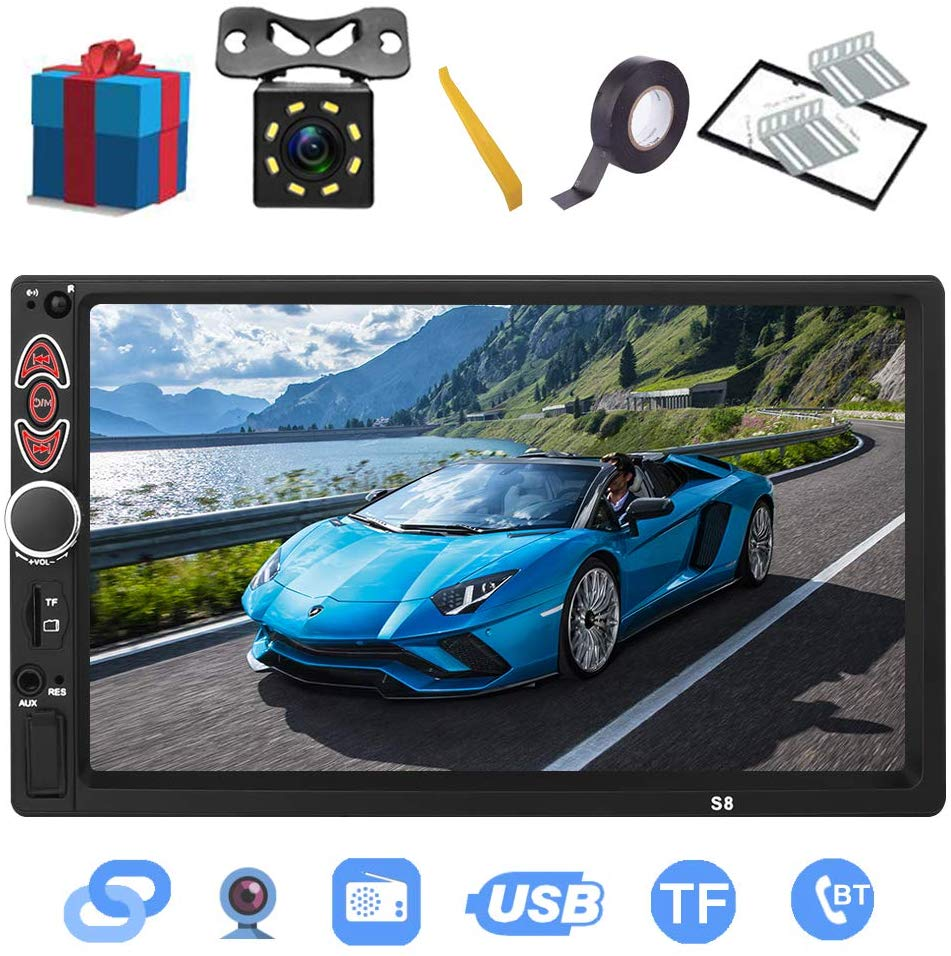Double Din Car Stereo-7-inch Touch Screen