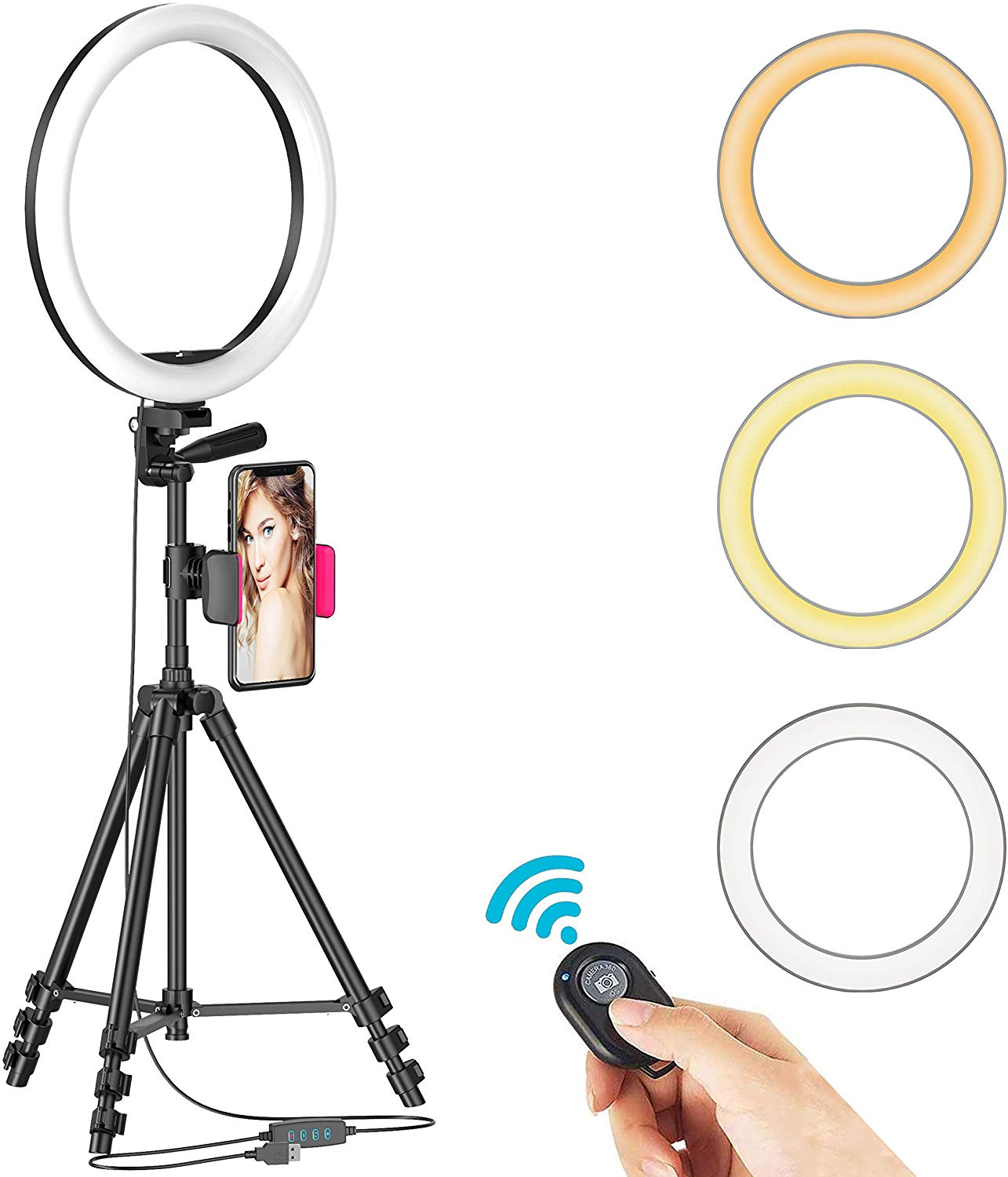 "12"" Selfie Ring Light"