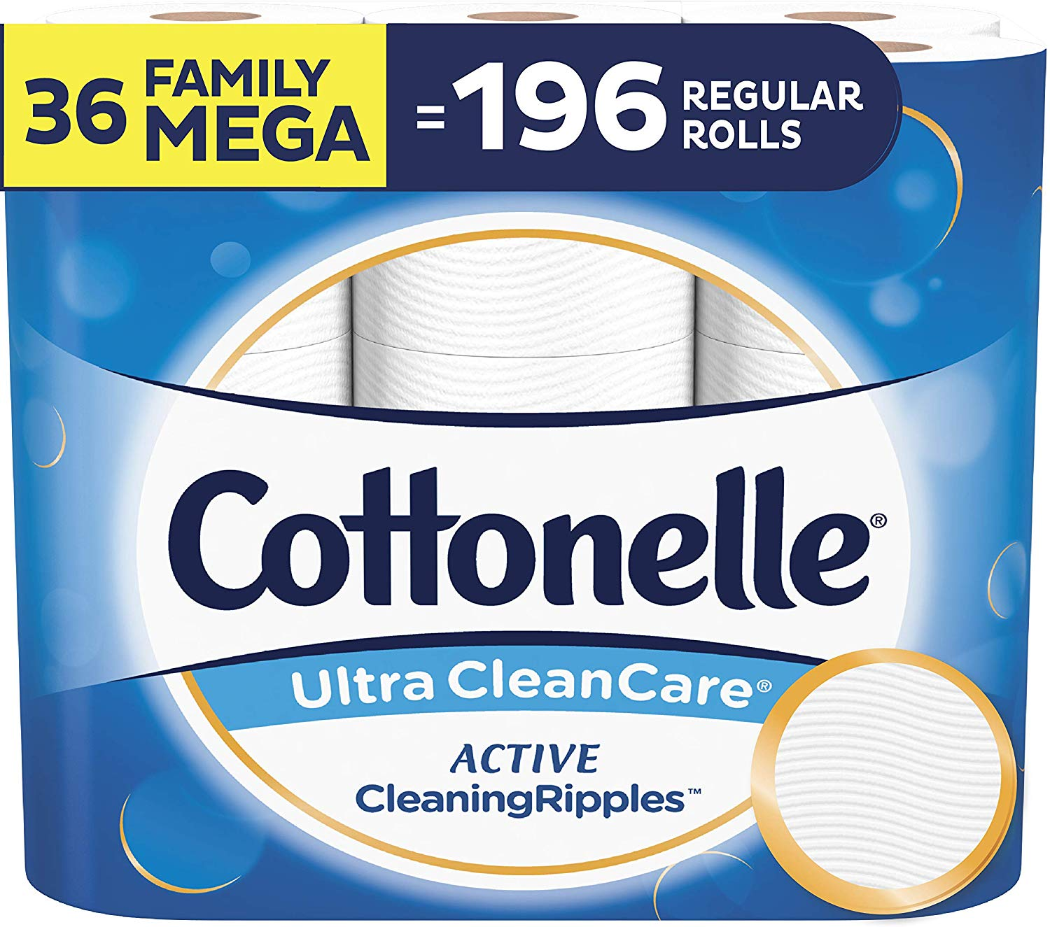 Cottonelle Ultra CleanCare | Biodegradable Toilet Papers