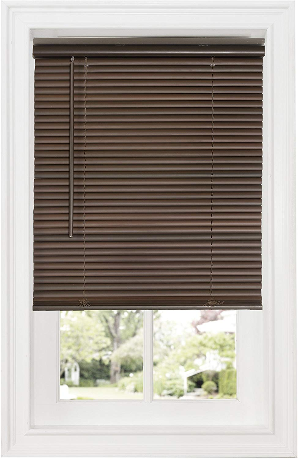 Achim Home Furnishings | Wooden Vertical Blinds