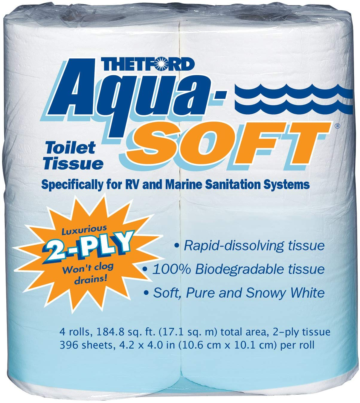 Aqua-Soft | Biodegradable Toilet Papers