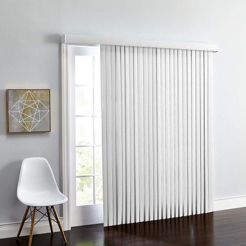 Brylane Home Embossed Vertical Blinds