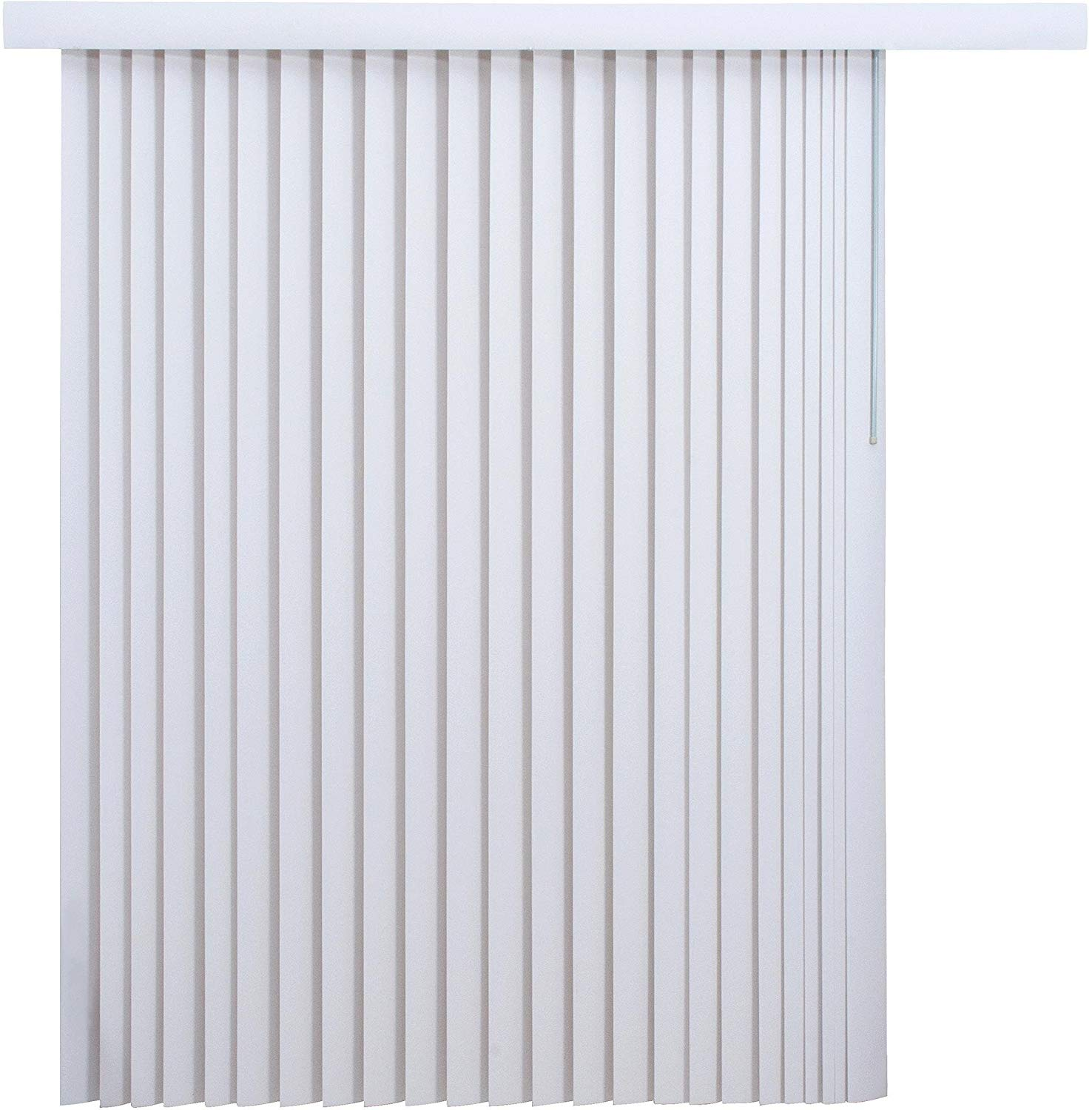 Mainstay 78 x 84 Vertical Blinds, (1, White)