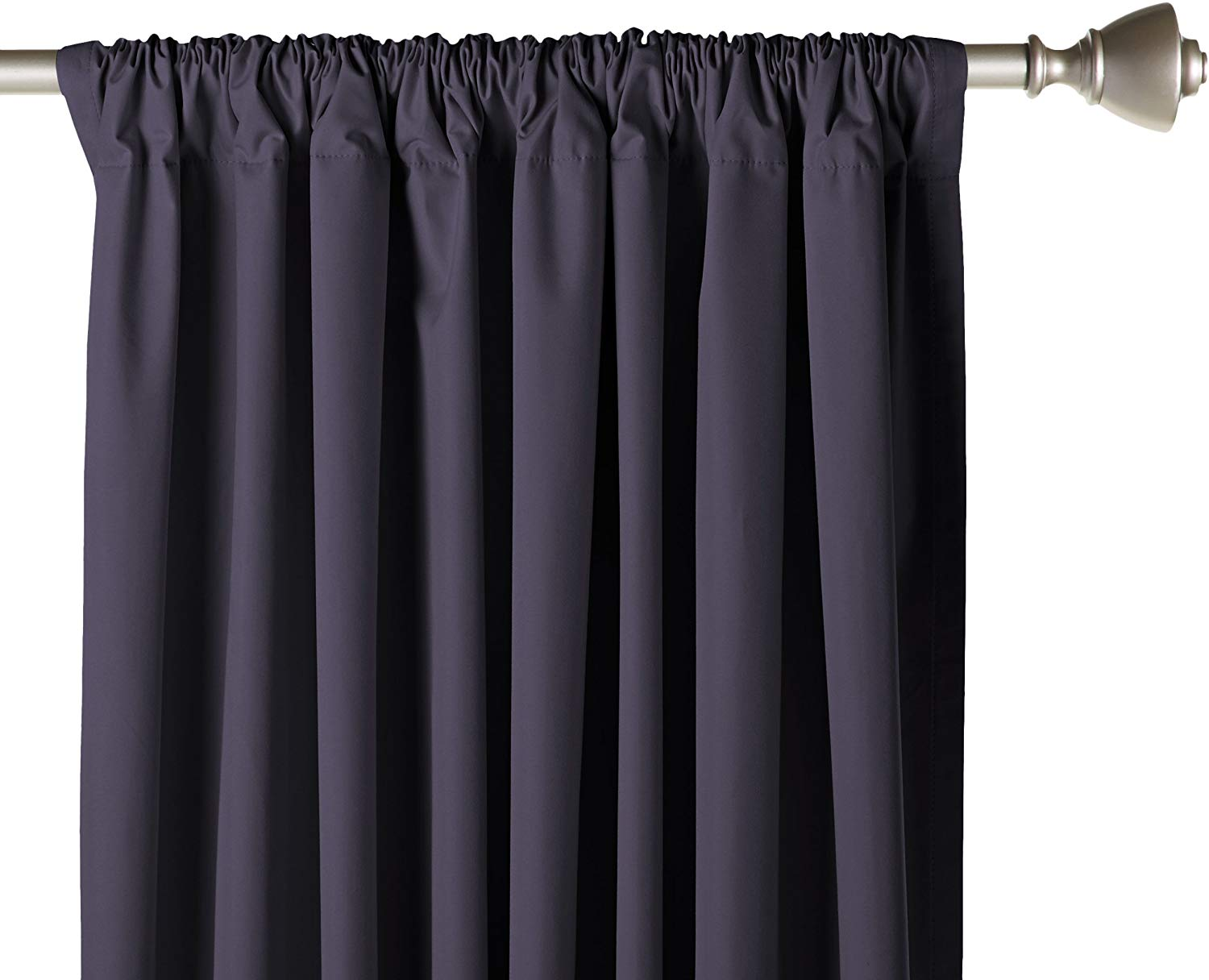 AmazonBasics Room Blackout Window Panel Curtains