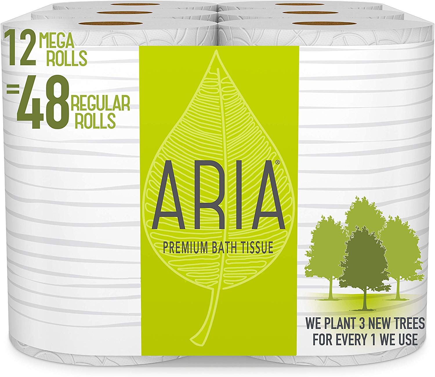 Aria Premium | Biodegradable Toilet Papers