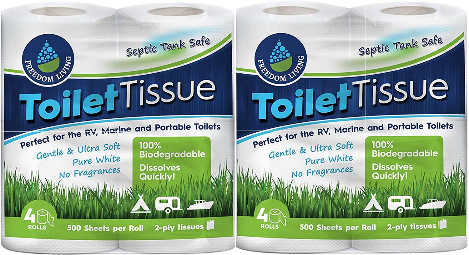 Freedom Living RV  | Biodegradable Toilet Papers