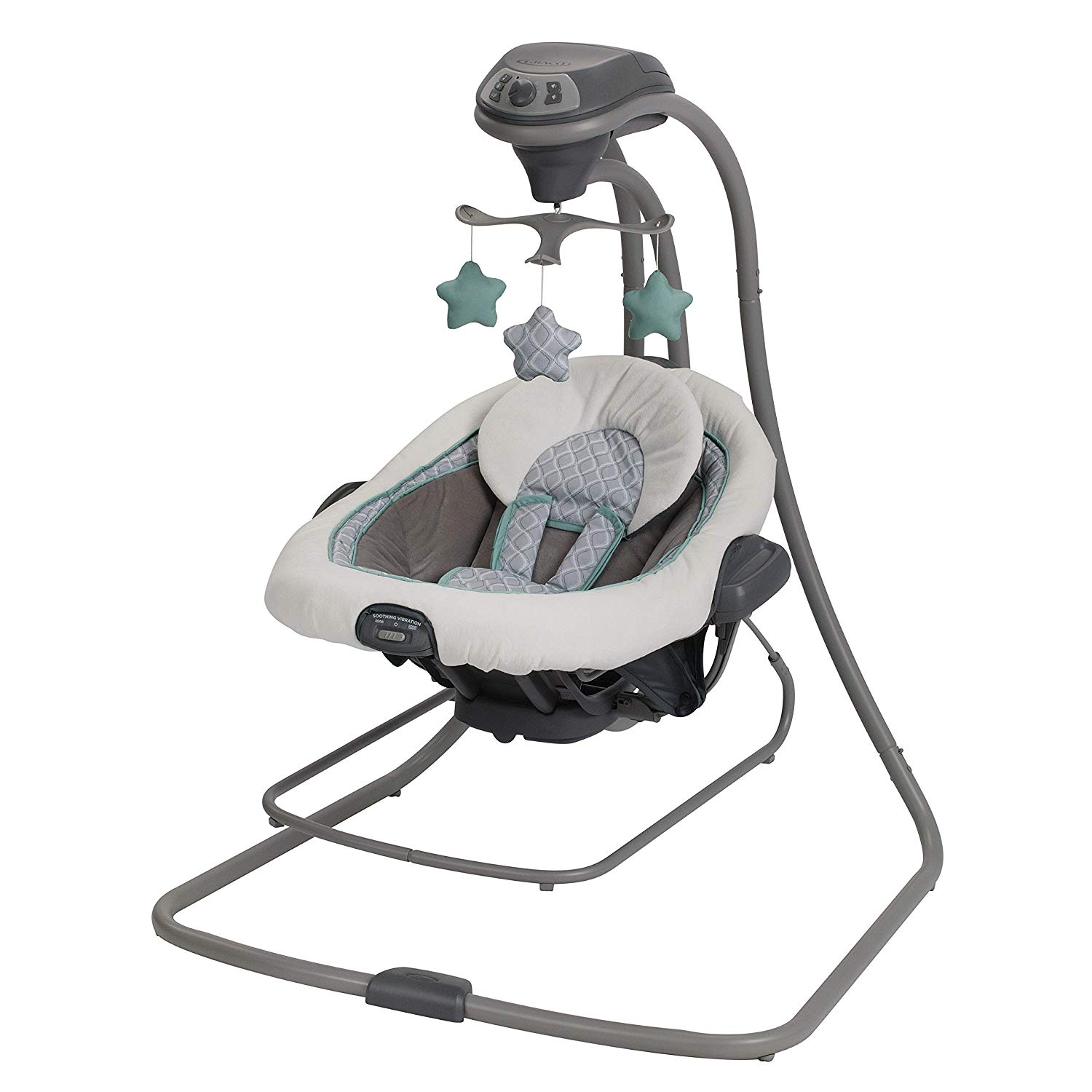 Graco DuetConnect LX Swing and Bouncer, Manor, One Size   Baby Cradle Swing
