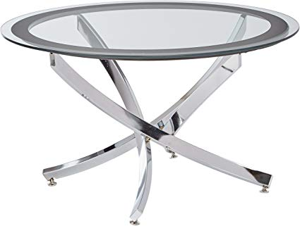Norwood Coffee Table with Glass Top