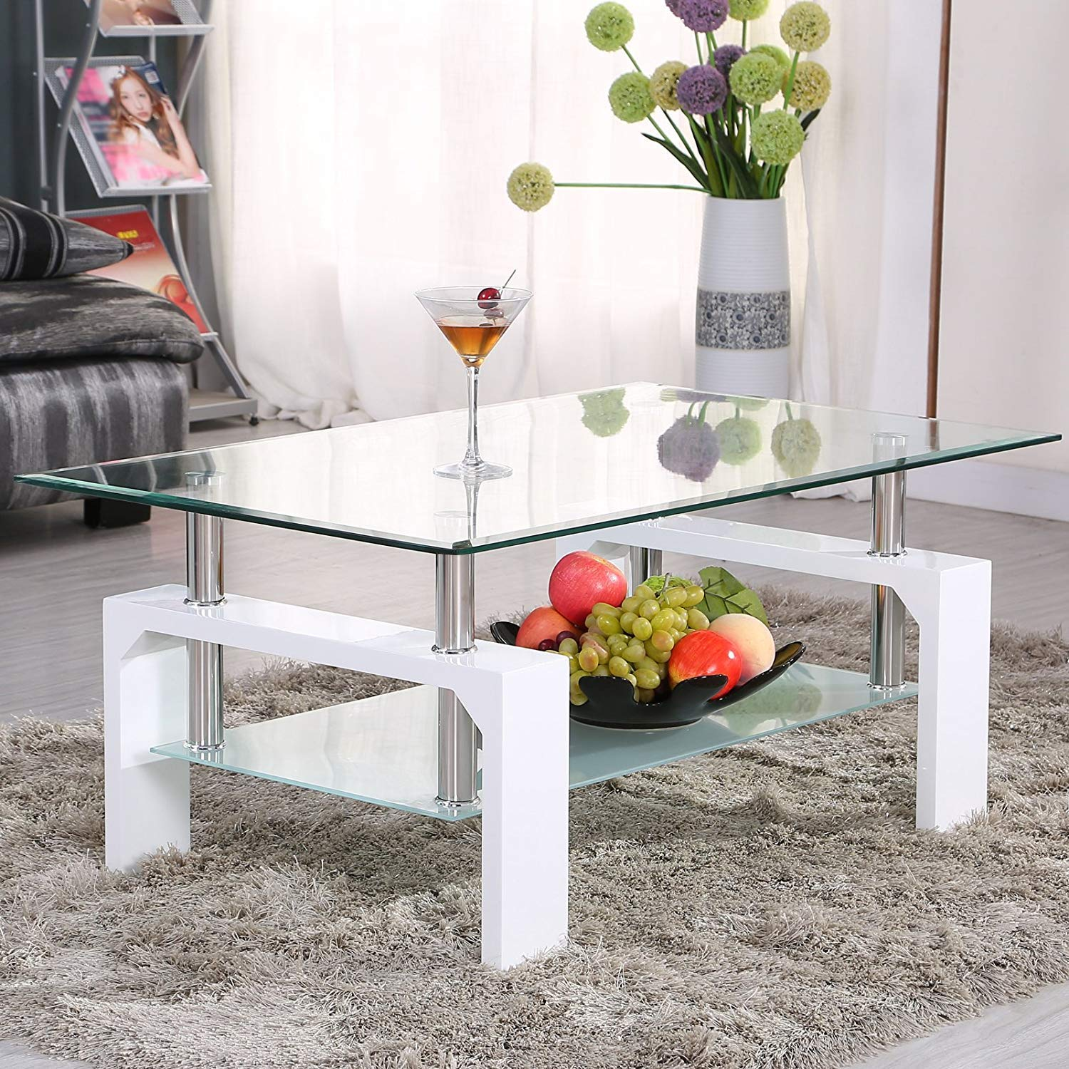 Cool coffee tables Mecor Rectangle