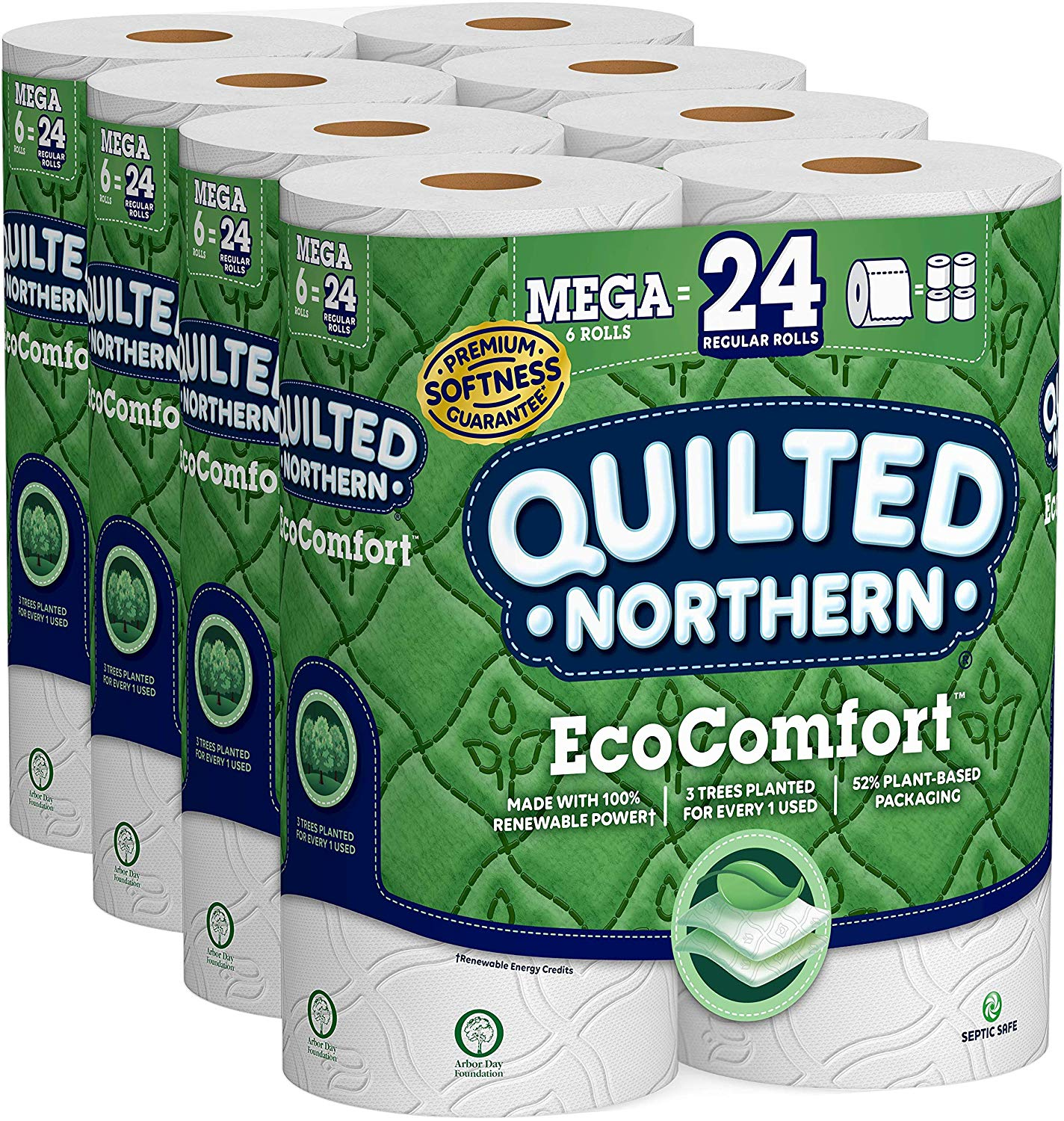 Quilted Northern EcoComfort | Biodegradable Toilet Papers