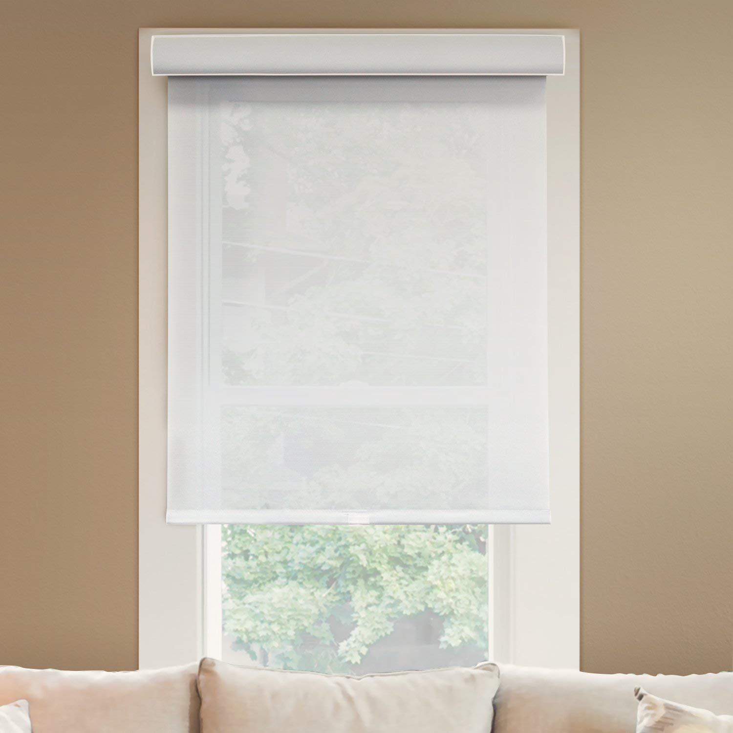 Chicology Deluxe Free-Stop Cordless Roller Shades
