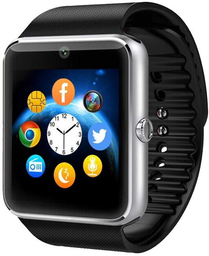 Amazingforless Bluetooth GT08 SLV Smart Watch