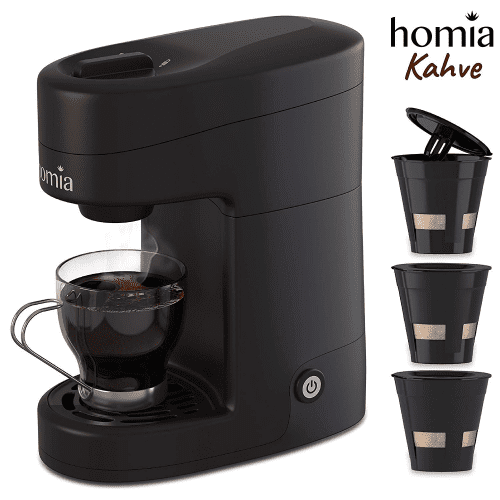 Coffee Maker Machine Single Serve - Electric Brewer for Ground Coffee | office coffee machine