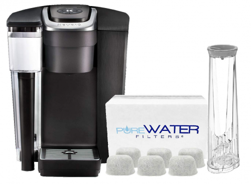 Pure Water Filters bundle K1500 Commercial Single Serve Coffee Brewer | office coffee machine