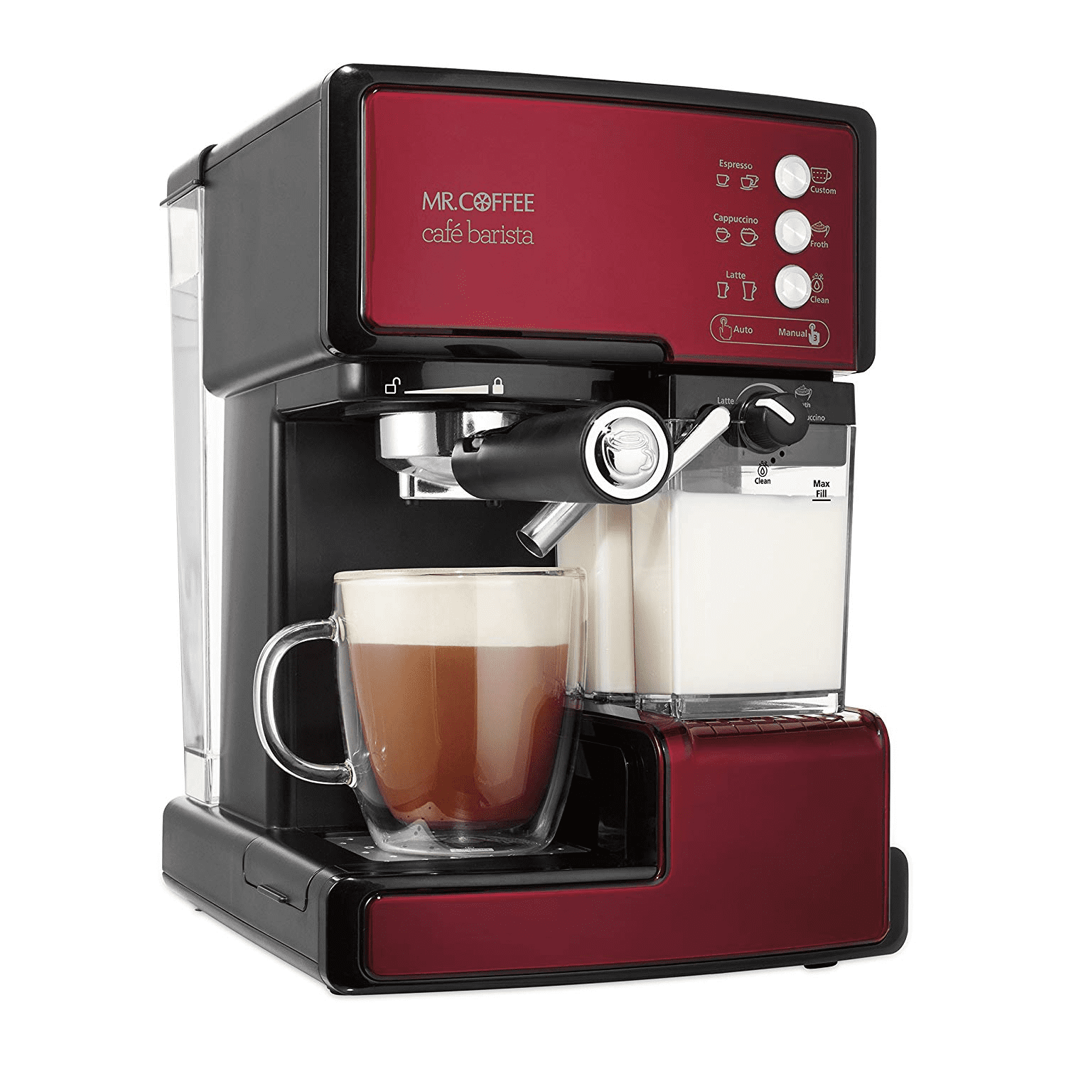 Mr Coffee Cafe Barista Espresso and Cappuccino Maker | Bean to Cup Coffee Machine