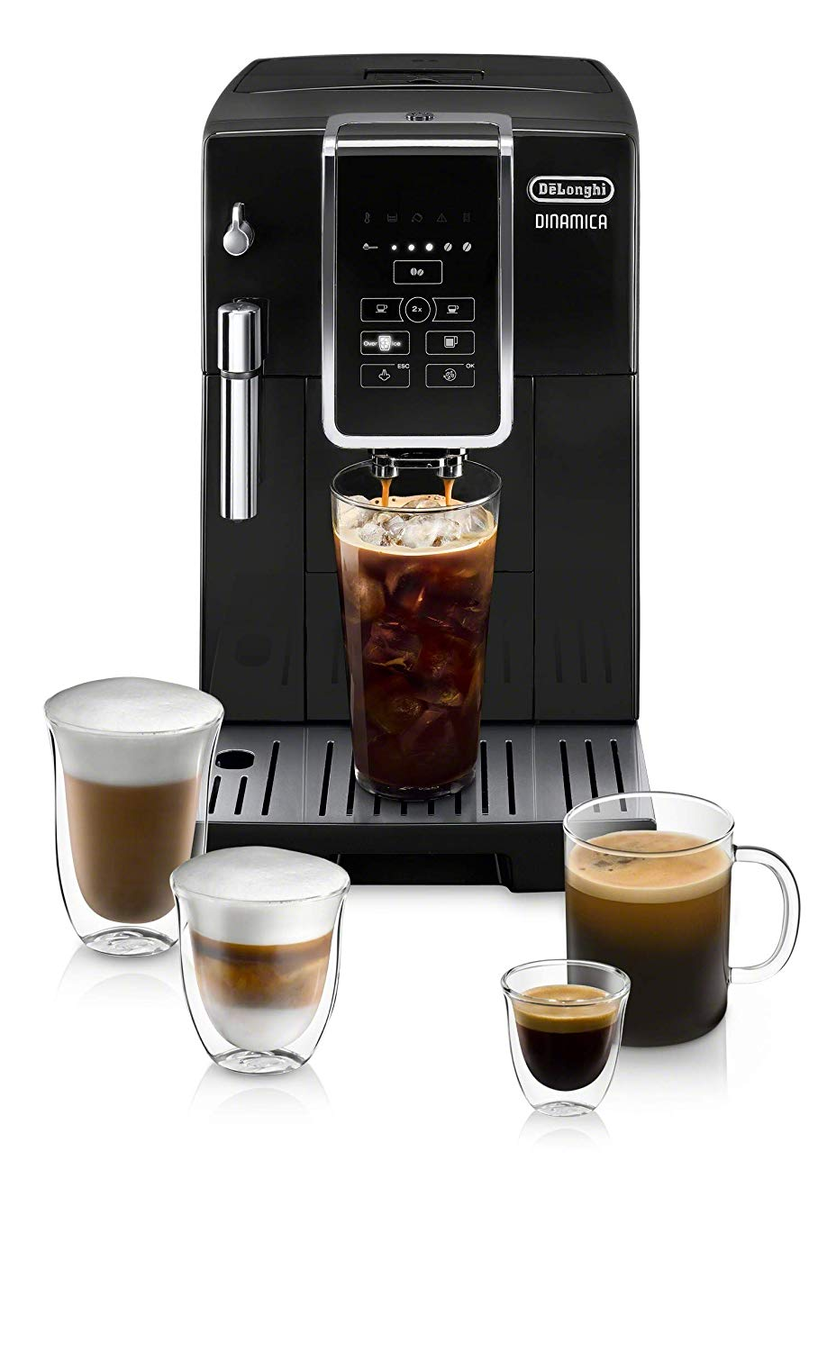 De'Longhi Dinamica Automatic Coffee & Espresso Machine | Bean to Cup Coffee Machine