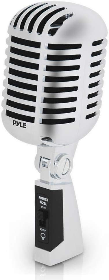 The Pyle Classic Retro Dynamic vocal microphone | Radio Microphones
