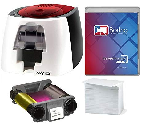 Bodno Badgy200 Color Plastic ID card printer