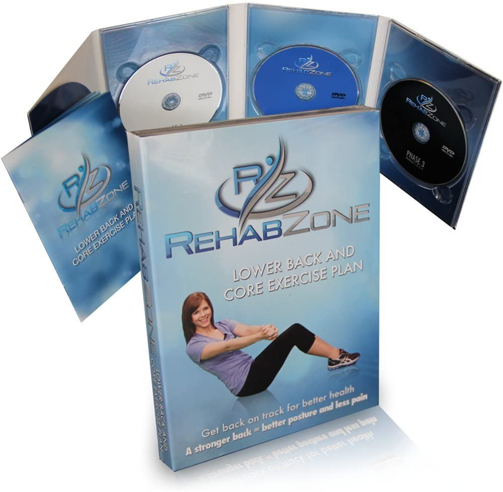 8. RehabZone Lower Back and Core Exercise Plan