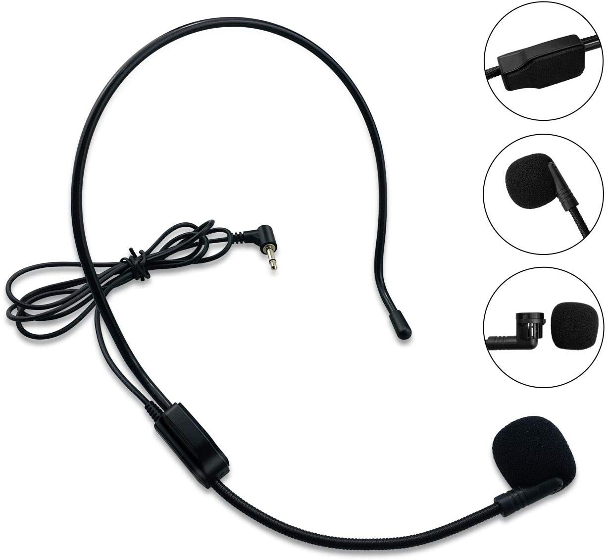 Zoweetek Wired 3.5mm Microphone