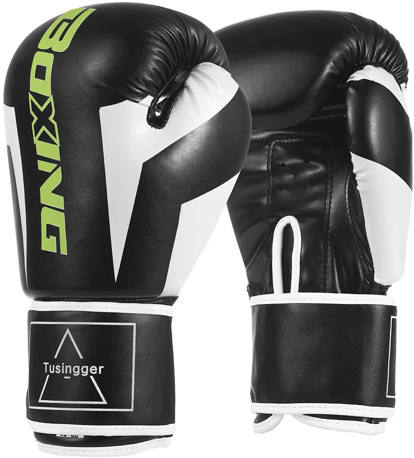 Tusingger Training Boxing Gloves Men & Women&Kids,Cool Style Boxing Gloves,Kickboxing Gloves,Muay Thai,Sparring Gloves,Heavy Bag Gloves for Boxing
