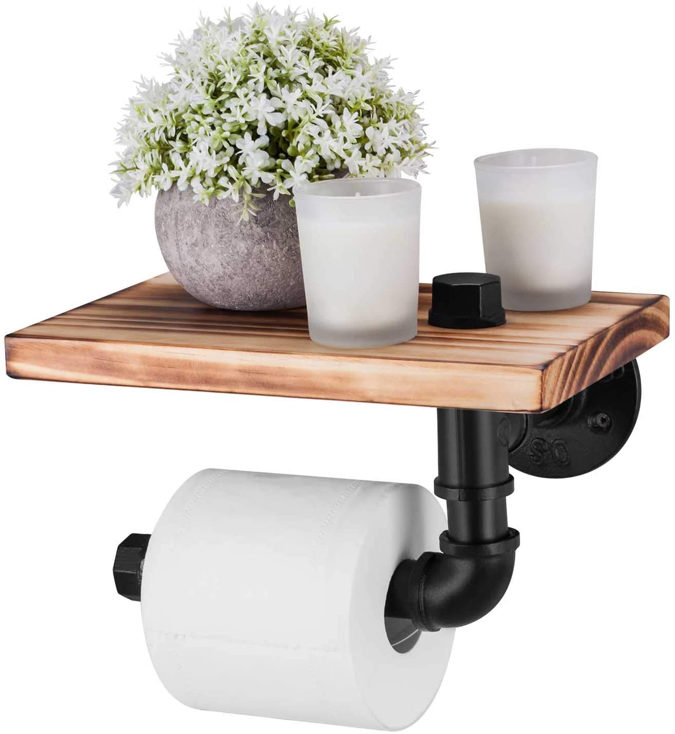 Elibbren Industrial Toilet Paper Holder