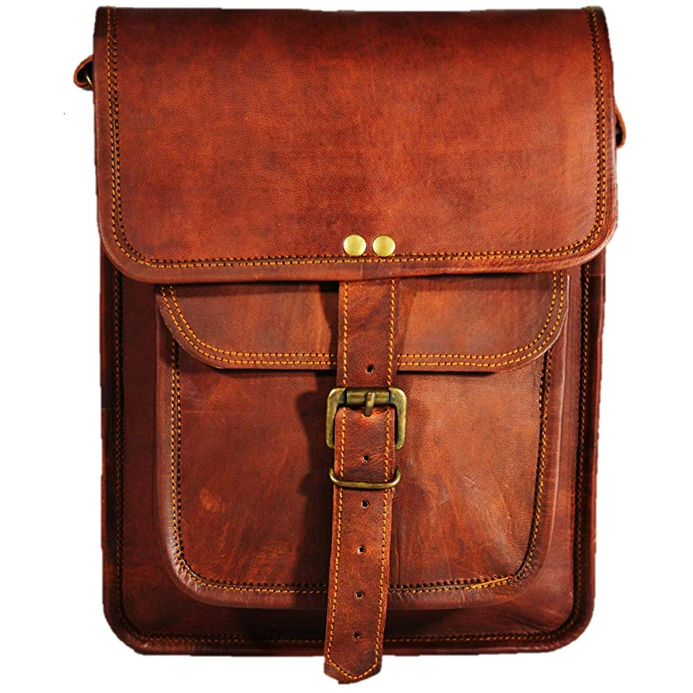 Satchel and Fable Leather I | Brown Leather Shoulder Bags