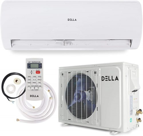 Della 12000 BTU Mini Split Air Conditioner Ductless Inverter System