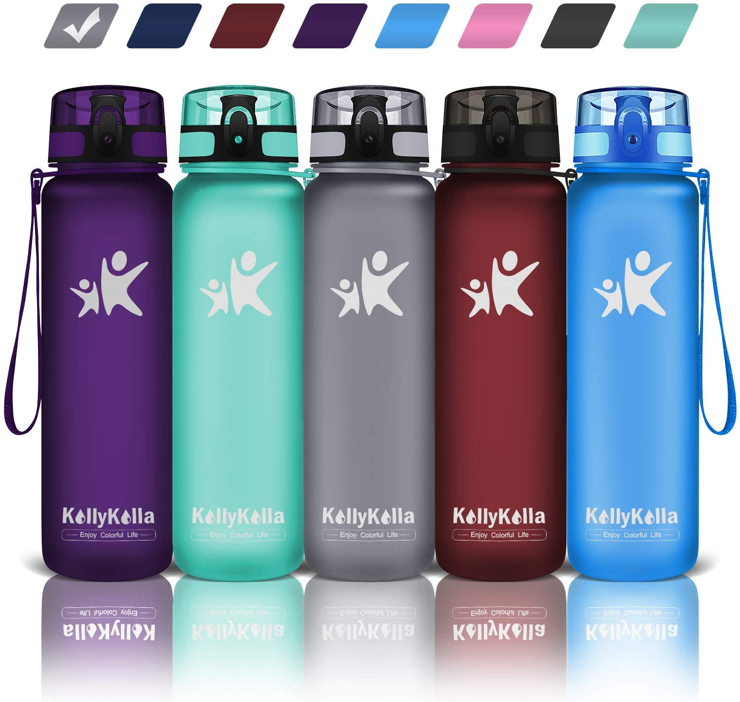 KollyKolla Sports Water Bottles| Cheap Water Bottles
