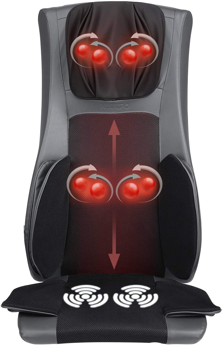 Naipo Shiatsu Back and Neck Massage Chair