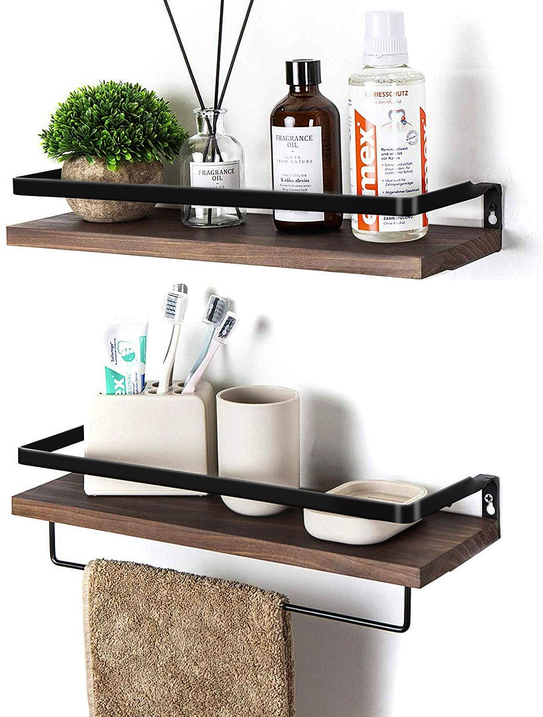 SODUKU Floating Shelves Wall Mounted Storage Shelves