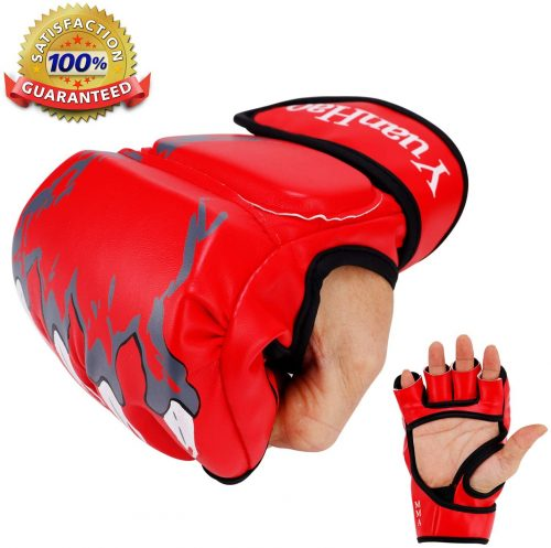MMA Gloves, UFC Gloves Boxing Leather