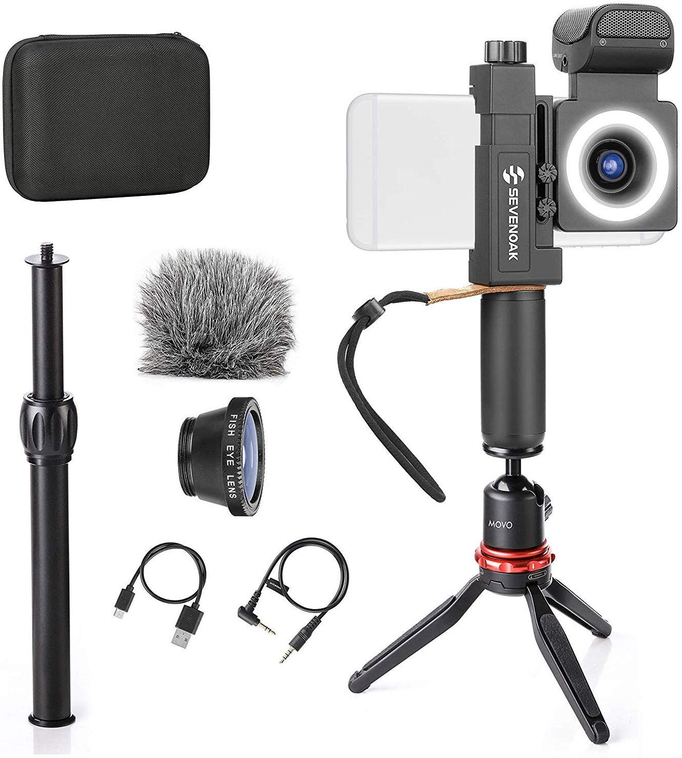 Move SmartCine Smartphone Video Kit Tripod Bundle