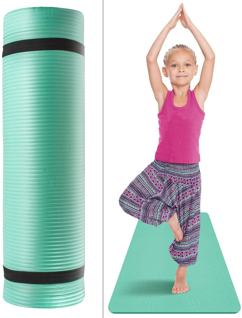 9. Sivan Health and Fitness Kids Exercise Yoga Mat