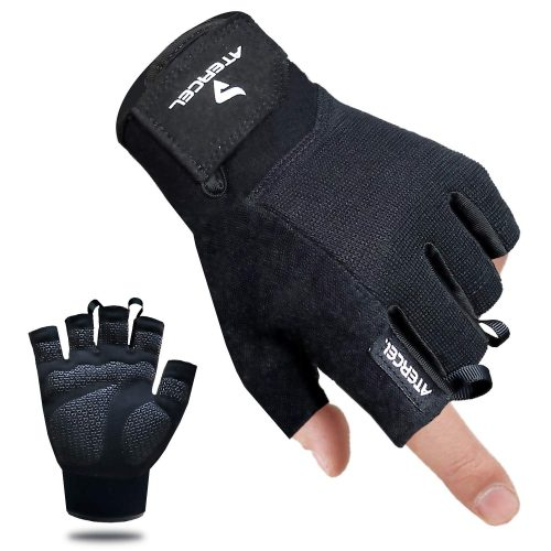 Atercel Workout Gloves, Best Exercise Gloves for Weight Lifting