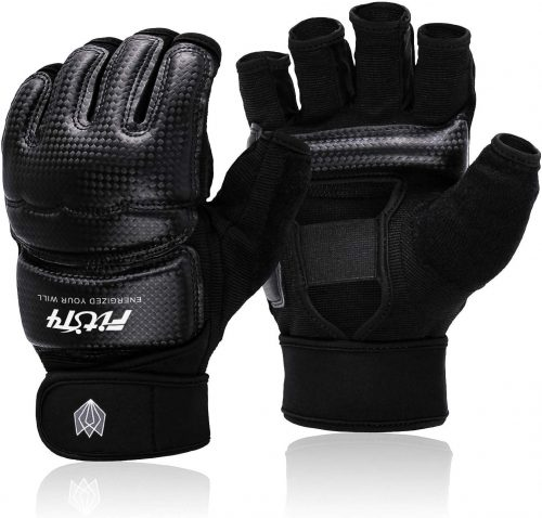 FitsT4 Half Mitts UFC MMA Training Boxing Punch