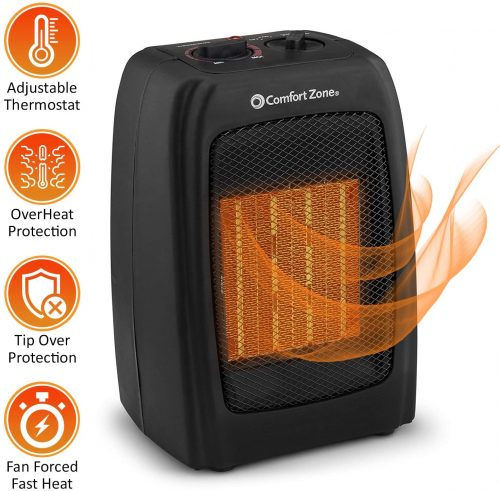 BOVADO USA Portable 166648 Ceramic Space Heater